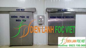 Thi công kho lạnh bảo quản thực phẩm tại Quảng Nam