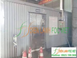 Lắp kho lạnh bảo quản rác thải y tế tại Hưng Yên